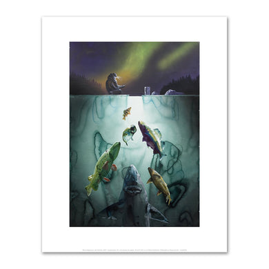 Alexis Rockman, Ice Fishing, 2017, Fine Art Prints in various sizes by Museums.Co