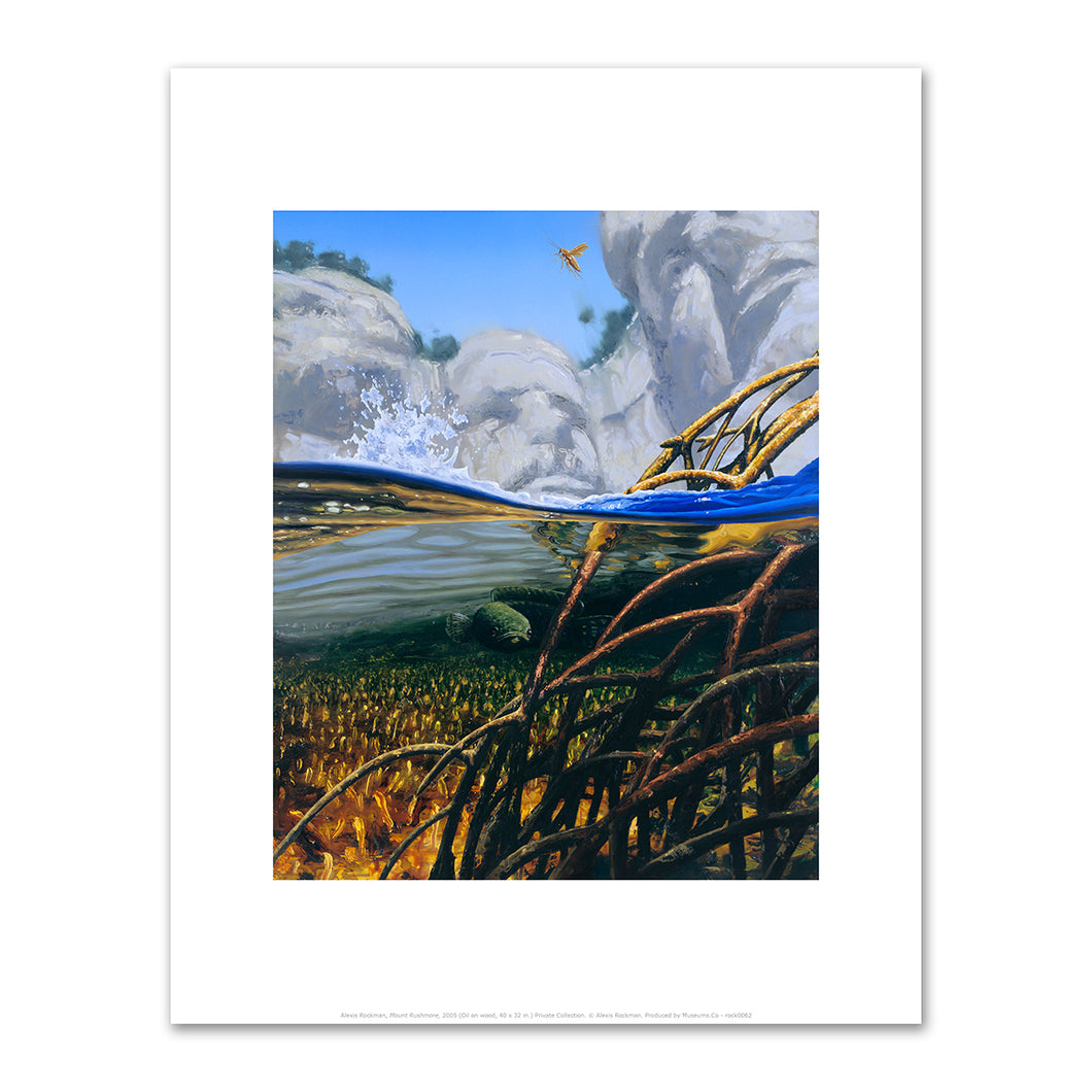 Alexis Rockman, Mount Rushmore, 2005, Fine Art Prints in various sizes by Museums.Co