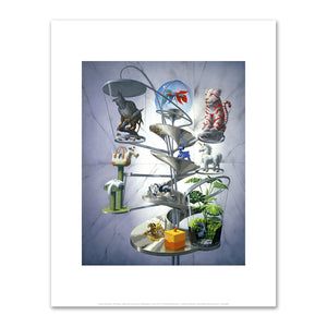 Alexis Rockman, Pet Store, 2004, Fine Art Prints in various sizes by Museums.Co