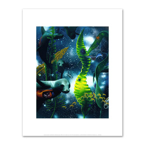 Alexis Rockman, Biosphere: Monterey Bay, 1993, Fine Art Prints in various sizes by Museums.Co