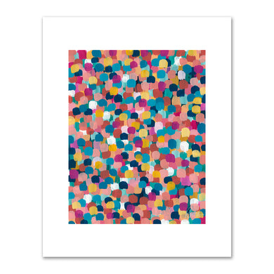 Roma Osowo, Colored Dots, 2018, Fine Art Prints in various sizes by Museums.Co