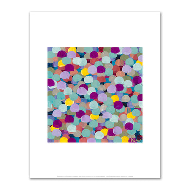 Roma Osowo, Colored Dots VI, September, 2020, Private Collection. © Roma Osowo. Fine Art Prints in various sizes by Museums.Co