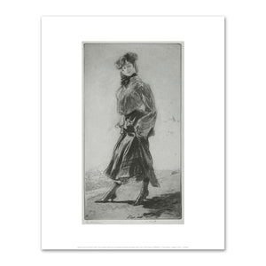 Edgar Chahine, The Shopgirl (La midinette), Fine Art print in various sizes by Museums.Co