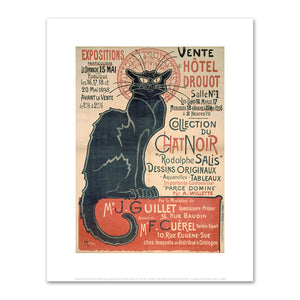 "Théophile Alexandre Steinlen, Auction sale at the Hôtel Drouot, the ""Chat Noir"" collection, Fine Art prints by Museums.Co"