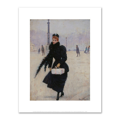 Jean Béraud, Parisian, Place de la Concorde, Fine Art prints in various sizes by Museums.Co