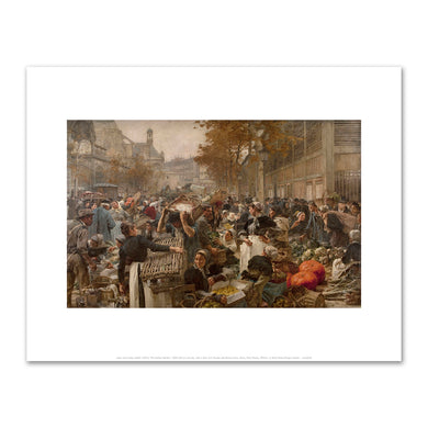 Léon Lhermitte, The Halles Market, Fine Art Prints in various sizes by Museums.Co