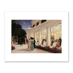 Henri Gervex), An Evening at the Pre-Catelan, Fine Art prints in various sizes by Museums.Co