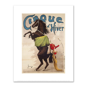 "Jean-Alcide-Henri Boichard, ""Cirque d'Hiver"" (horsewoman), Printed by Imprimerie Victor Palyart, between 1880 and 1900, Fine Art Prints in various sizes by Museums.Co"