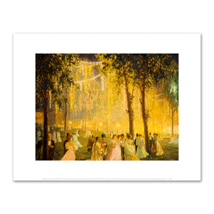 William Samuel Horton (1865–1936), Nighttime Festivities Held by President Loubet at the Elysée Palace in Honor of Alfonso XIII, 1905, Fine Art Prints in various sizes by Museums.Co
