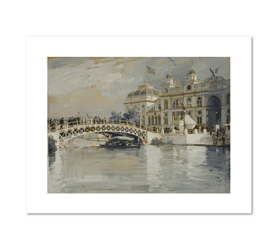 Frederick Childe Hassam, Columbian Exposition, Chicago, 1892, Fine Art Prints in various sizes by Museums.Co