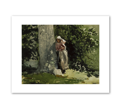 Winslow Homer, Weary, c. 1878, Fine Art Prints in various sizes by Museums.Co