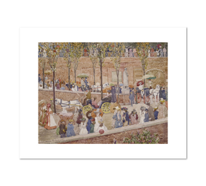 Maurice Prendergast, Monte Pincio, Rome, 1898–99, Fine Art Prints in various sizes b Museums.Co