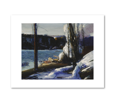 George Bellows, The Palisades, 1909, Fine Art Prints in various sizes by Museums.Co