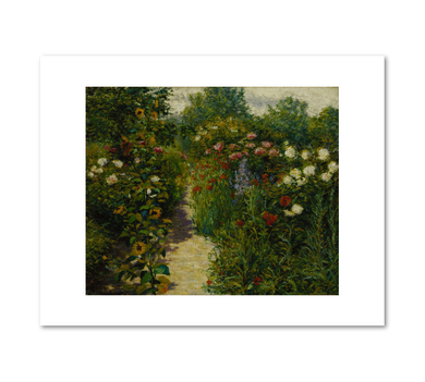 Garden at Giverny (In Monet's Garden) by John Leslie Breck
