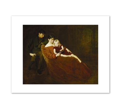 George de Forest Brush, A Family Group, 1907, Fine Art Prints by Museums.Co