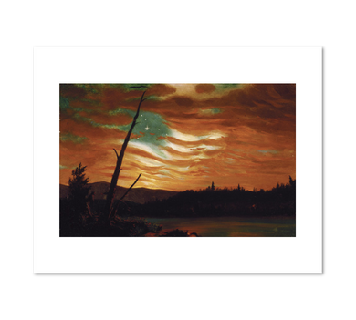 Frederic Edwin Church, Our Banner in the Sky, 1861, Fine Art Prints in various sizes by Museums.Co