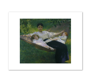 Joseph DeCamp, The Hammock, c. 1895, Fine Art Prints in various sizes by Museums.Co