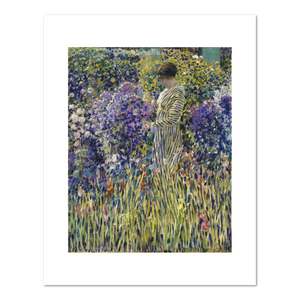 Frederick Frieseke, Lady in a Garden, c. 1912, Fine Art Prints in various sizes by Museums.Co