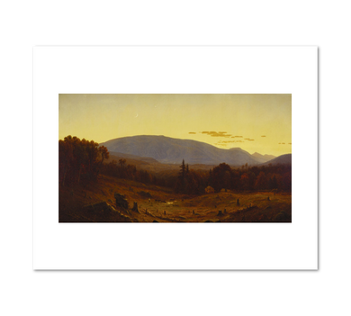 Sanford Robinson Gifford, Hunter Mountain, Twilight, 1866, Fine Art Prints in various sizes by Museums.Co