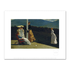 Croquet Match by Winslow Homer