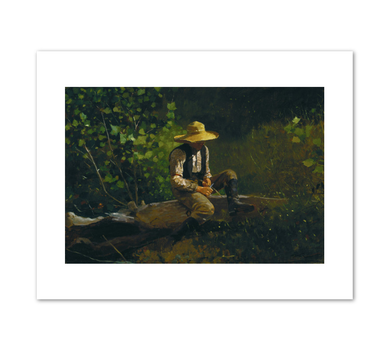 Winslow Homer, The Whittling Boy, 1873, Fine Art Prints in various sizes by Museums.Co
