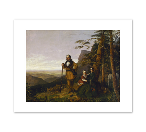 William S. Jewett, The Promised Land - The Grayson Family, 1850, Fine Art Prints in various sizes by Museums.Co