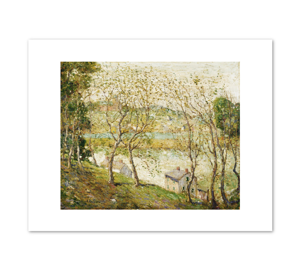 Ernest Lawson, Springtime, Harlem River, 1900–10, Terra Foundation for American Art. Fine Art Prints in various sizes by Museums.Co