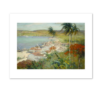 Willard Metcalf, Havana Harbor, 1902, Terra Foundation for American Art. Fine Art Prints in various sizes by Museums.Co