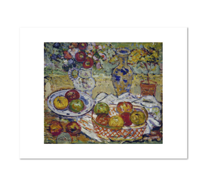 Maurice Prendergast, Still Life with Apples and Vase, between 1910 and 1913, Fine Art Prints in various sizes by Museums.Co