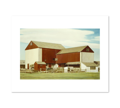 Charles Sheeler, Bucks County Barn, 2020ArtSolutions