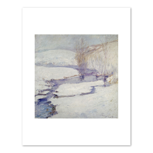 John Twachtman, Winter Landscape, 1890–1900, Terra Foundation for American Art. Fine Art Prints in various sizes by Museums.Co