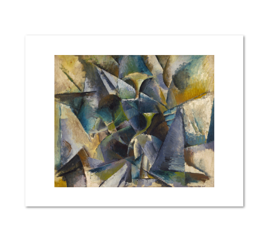 Max Weber, Construction, 1915, Fine Art Prints in various sizes by Museums.Co