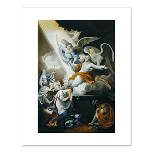 Unknown, Apotheosis of Washington, between 1802 and 1810, Terra Foundation for American Art, Fine Art Prints in various sizes by Museums.Co