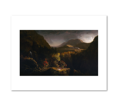 Landscape with Figures: A Scene from