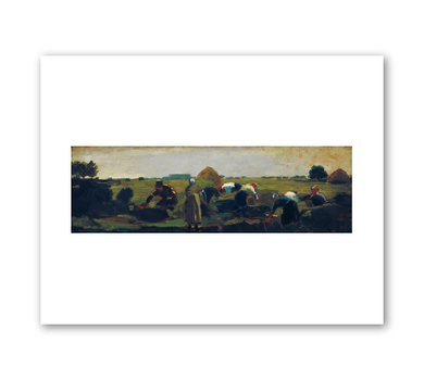 Winslow Homer, The Gleaners, 1867, Fine Art Prints in various sizes by Museums.Co