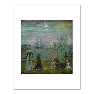 Maurice Prendergast, Promenade with Parasols, between 1895 and 1897, Fine Art Prints in various sizes by Museums.Co