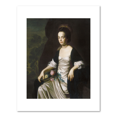 Portrait of Mrs. John Stevens (Judith Sargent, later Mrs. John Murray), 1770-72, Fine Art Prints in various sizes by Museums.Co