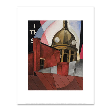 Charles Demuth, Welcome to Our City, 1921, Fine Art Prints in various sizes by Museums.Co