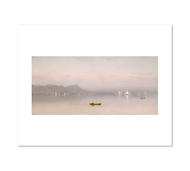 Sanford Robinson Gifford, Morning in the Hudson, Haverstraw Bay, 1866, Fine Art Prints in various sizes by Museums.Co