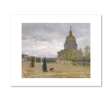 Les Invalides, Paris by Henry Ossawa Tanner