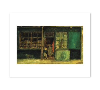 James Whistler, Carlyle's Sweetstuff Shop, c.1887, Terra Foundation for American Art. Fine Art Prints in various sizes by Museums.Co