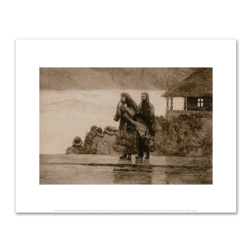 Winslow Homer, Perils of the Sea, 1888, Fine Art Prints in various sizes by Museums.Co