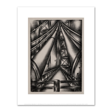 Jolan Gross-Bettelheim, Bridge Cables II, c. 1940, Fine Art Prints in various sizes by Museums.Co