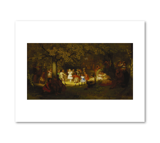 Picnic Party in the Woods by John George Brown