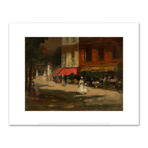 Robert Henri, Paris Café, Montparnasse, 1898, Fine Art Prints in various sizes by Museums.Co