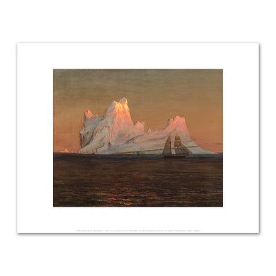 Frederic Edwin Church, The Iceberg, c. 1875, Fine Art Prints in various sizes by Museums.Co