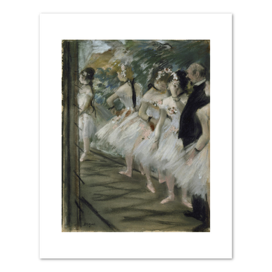 Edgar Degas, The Ballet, c. 1880, Fine Art Prints in various sizes by Museums.Co