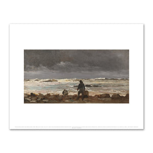 Rocky Coast (Maine Coast) by Winslow Homer