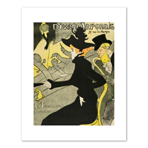 Henri de Toulouse-Lautrec, Divan Japonaise, 1892-1893, Fine Art Prints in various sizes by Museums.Co