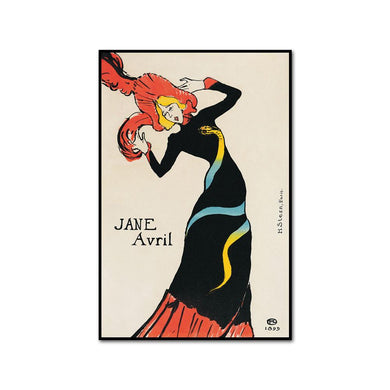 Jane Avril by Henri de Toulouse-Lautrec Artblock